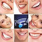 teeth, clean, white, oral, smile, dental, whiten, led light, people