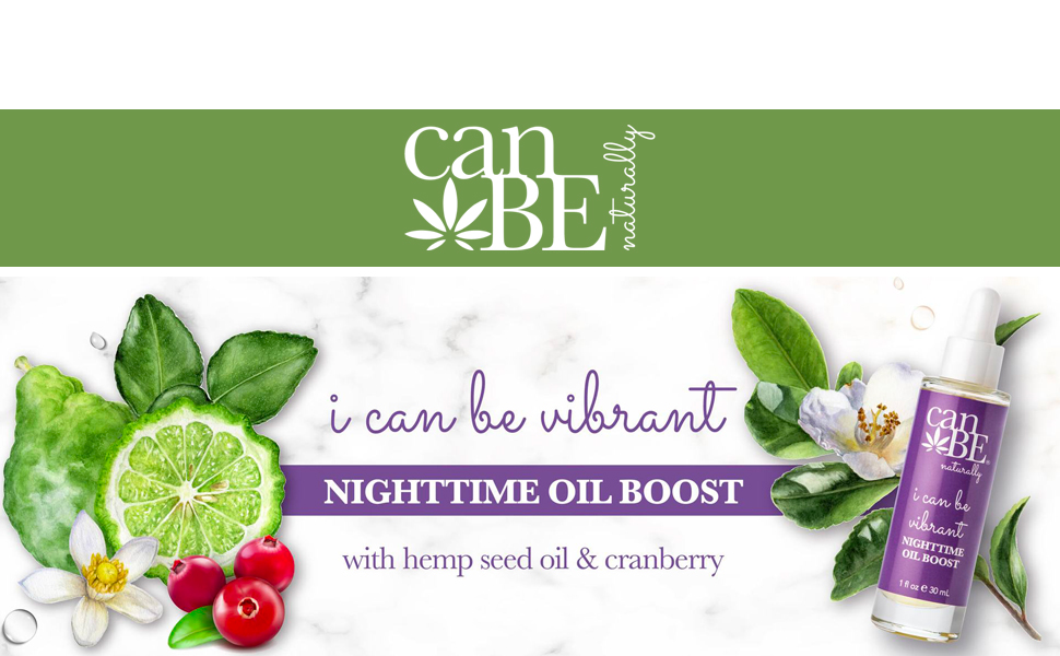 canBE i can be vibrant NIGHTTIME OIL BOOST