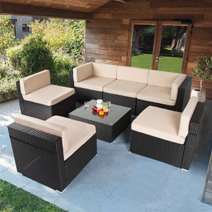 patio chair sectional