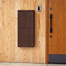 ナスタ 宅配ボックス 貫通タイプ 壁埋め込み
