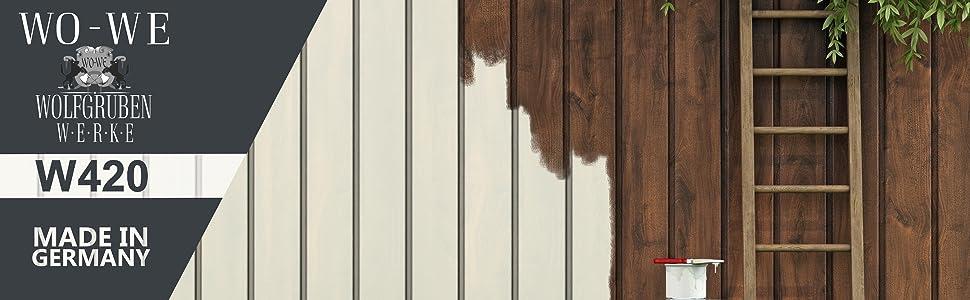 peinture bois w420 vernis boiserie finition mat couleurs gris anthracite similaire ral 7016 2 5l