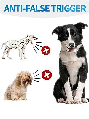 ANTI FALSE TRIGGER DOG BARK COLLAR