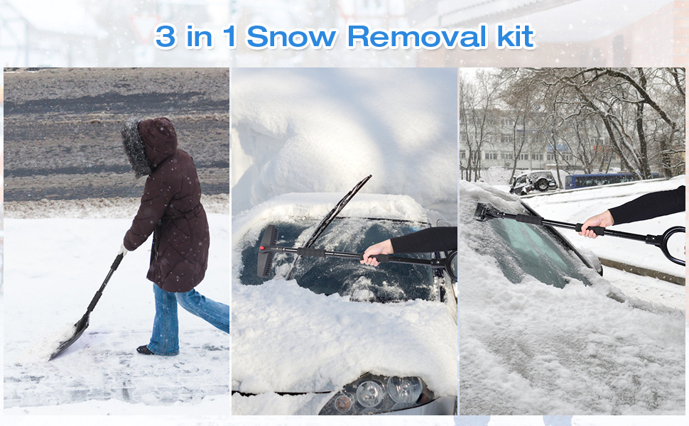 Snow Removal Shovel Kit