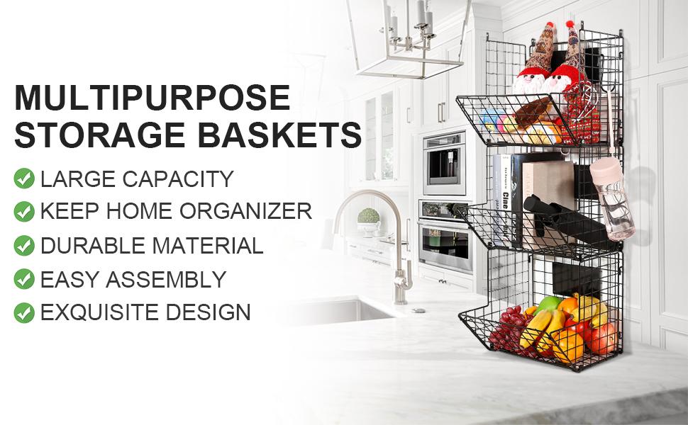 Metal Storage Organizer