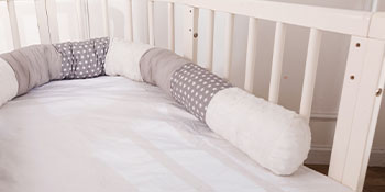neutral pillow railing protector safety children bedrails room full size side newborn sleeping