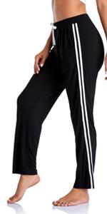 Black side stripe Sports Pants