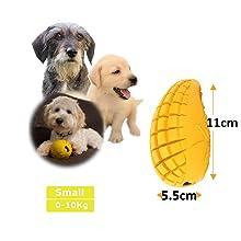PET-FUN Small Mango Small Dog Puppy Teething Chew Toy