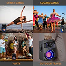 Portable Speaker Outdoor