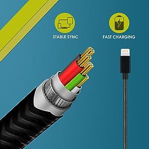 charging cable for ipods, charging cable for iphones
