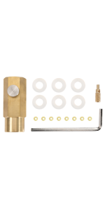 CO2 Adapter Fittings Set