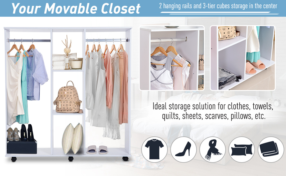 your movable closet