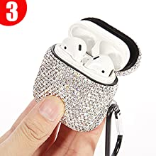 Sparkly AirPods case