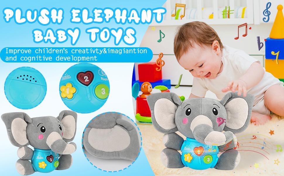 Cute baby musical toys