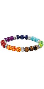 Reiki 7 Chakra Stretch Bracelet