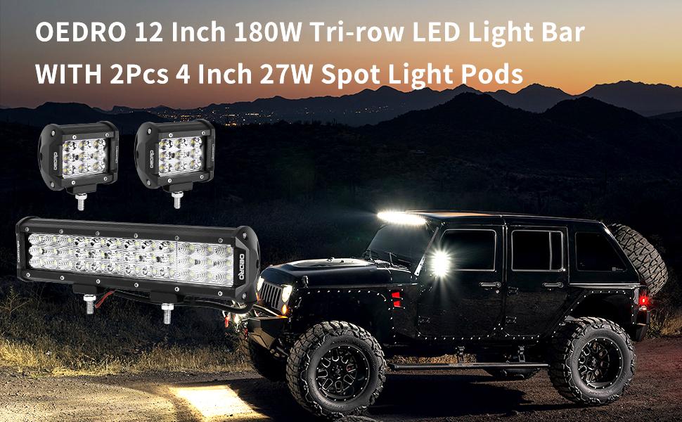 12 INCH LED LIGHT BAR