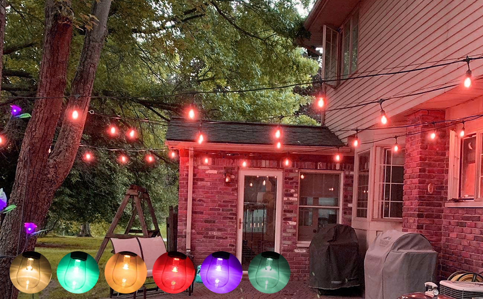 color charing string light