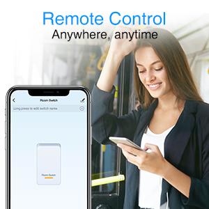 remote control, smart switch, smart light switch, smart wifi light switch