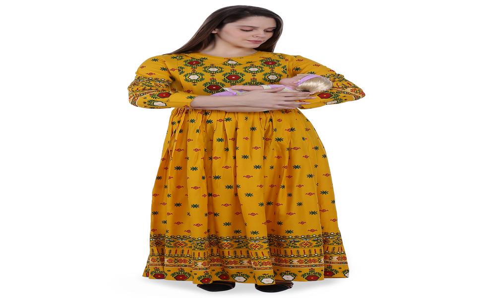 MomToBe Maternity/Feeding Dress