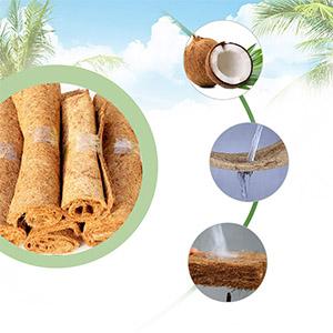 Natural high-quality coconut fiber