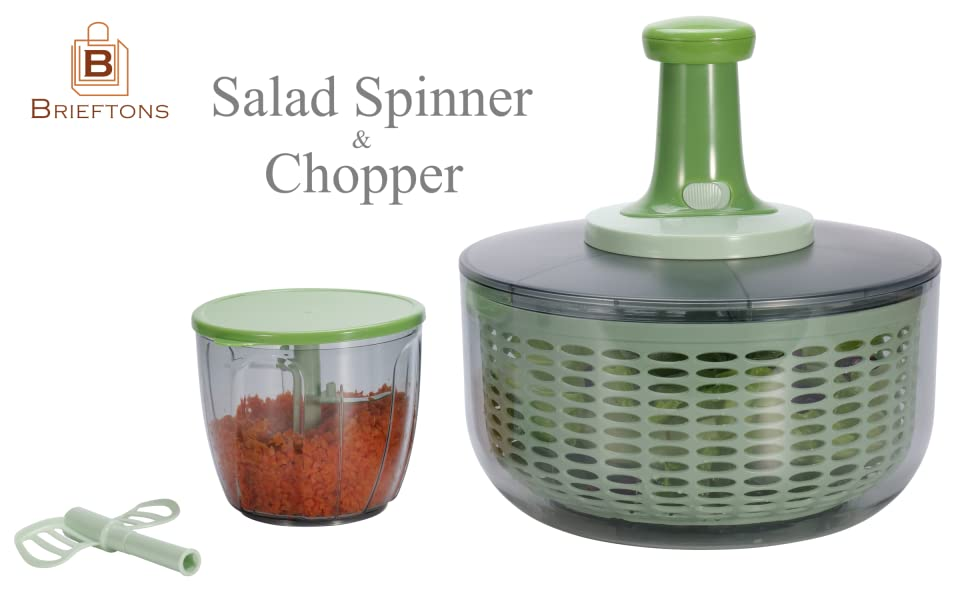 Brieftons Salad Spinner and Chopper