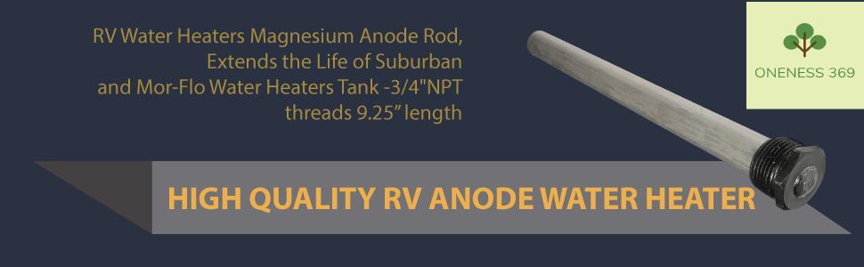 RV Anode Rod Water Heater