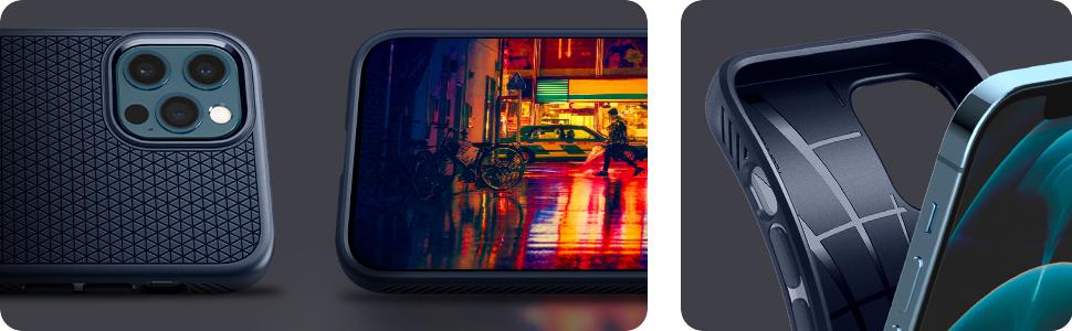 iphone 12 pro liquid air - navy blue