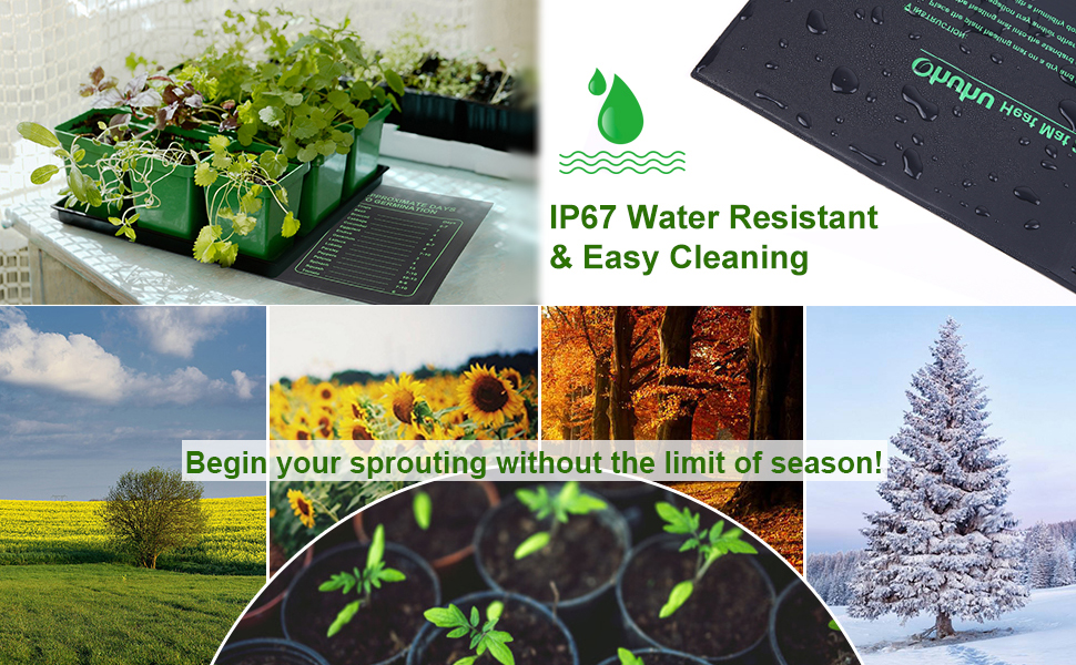 Seedling Heat Mat Hydroponic Heating Mat For Indoor Seedling And Germination