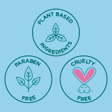 Plant Based, Paraben Free amp; Cruelty Free