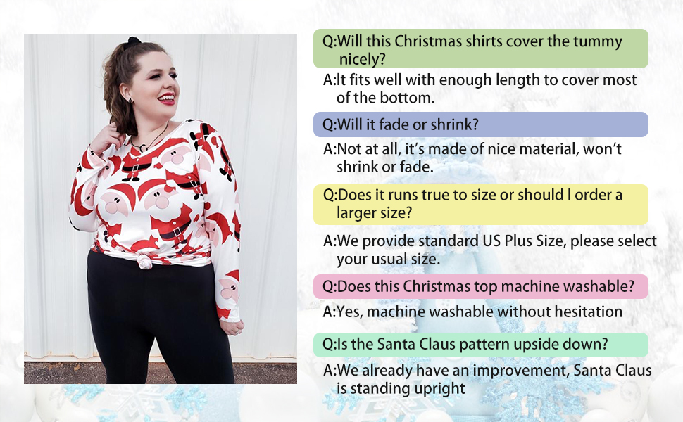 plus size holiday tops for women