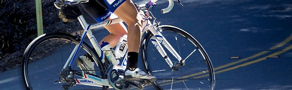 Performance Four, Cycling Socks, durable cycling socks, compression socks, crew socks