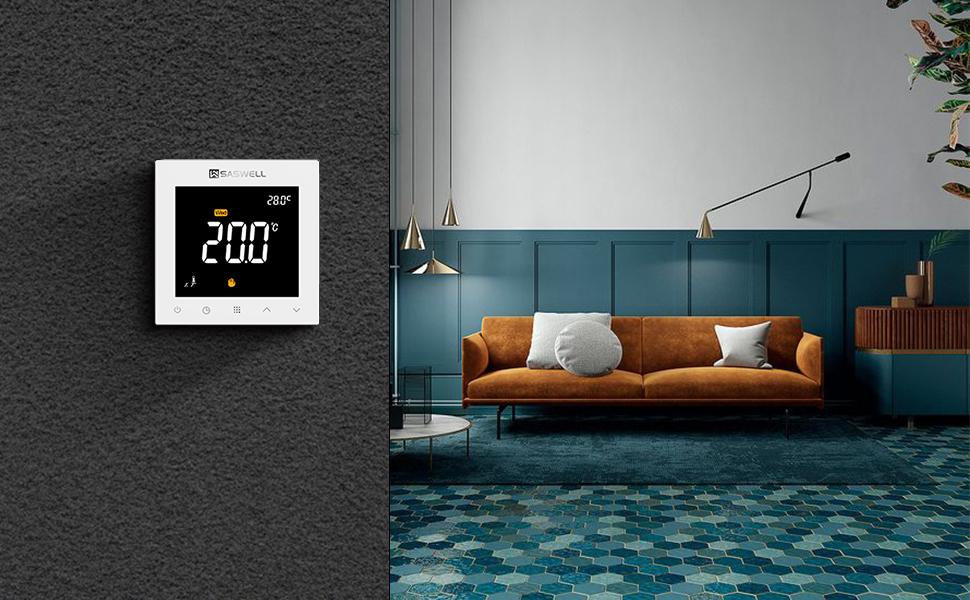 heated floor thermostat heating control valve thermostats for heating baseboard heat with thermostat