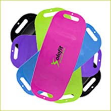 Balancing board for core fitness.