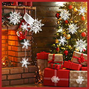 Details about  /2 Bags Christmas Snowflakes Deer Shaped Confetti Gifts Festive Party Decoration