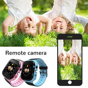 Remote camera child watch