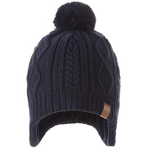 AHAHA Kids Hiver Earflap Bonnet Chapeau Pompon Chapeaux Tricot/és pour Gar/çons et Filles