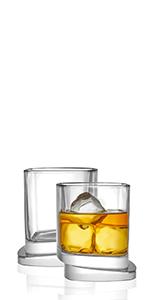 Semi Square Whiskey Glasses