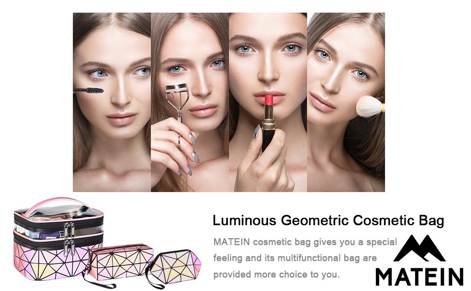 luminous geometric bag