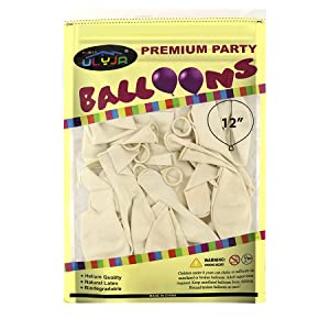 Balloons Package 50 Pack Size
