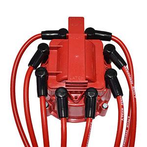Silicone Spark Plug Wires Set V6 V8