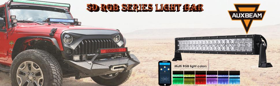 RGB light bar