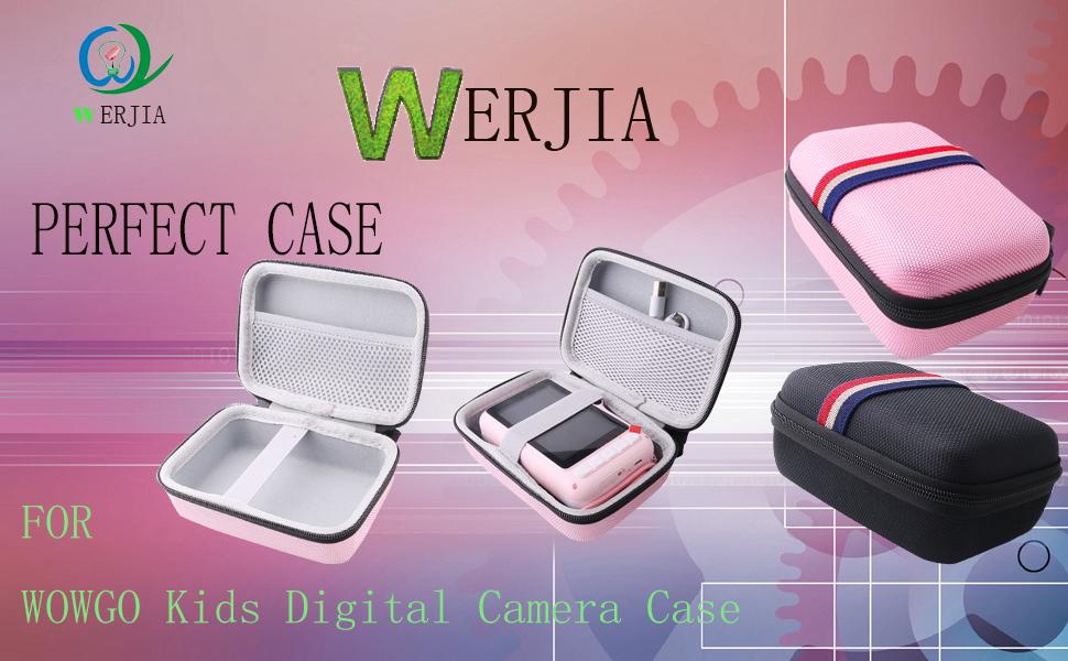 WERJIA Case for WOWGO Kids Digital Camera for Many Brands Kids Camera Case