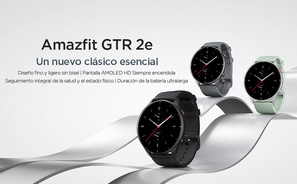 Amazfit GTR 2e Smartwatch Reloj Inteligente 90 Modos Deportivo Medición de la saturación de oxígeno en Sangre