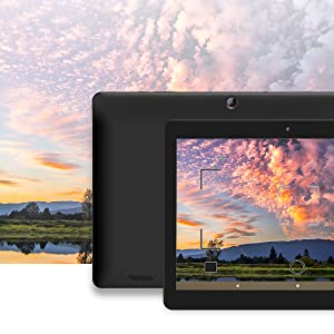Image of Sunset Picture being Take on the Innovate 10 HD Display