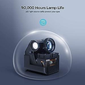 proyector silencioso, proyector 2021, proyector para cine en casa, proyector para presentaciones, 4k