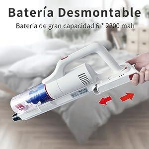 Batería extraíble