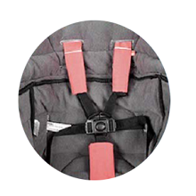 Safety Harness Stroller Systems