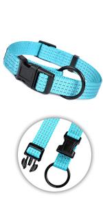 Night Reflective Nylon Dog Collar