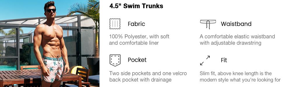 mens swim trunks