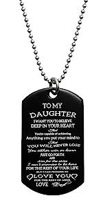 a message to my daughter graudation birthday gift deployment wedding