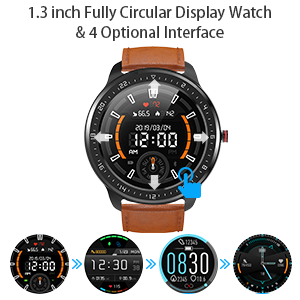 smart watch for full touch screen